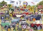 Motoring Memorabilia 1000 Piece Jigsaw Puzzle | Gibsons Jigsaws | Gift for him